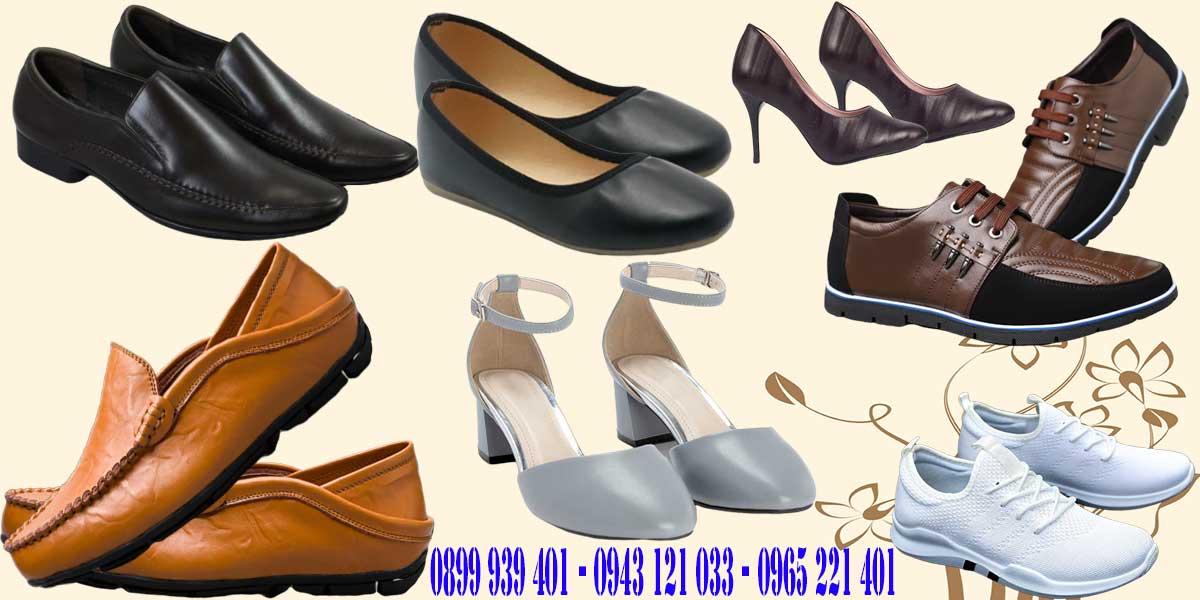 Các loại giày dép do công ty sản xuất trong nhiều năm qua