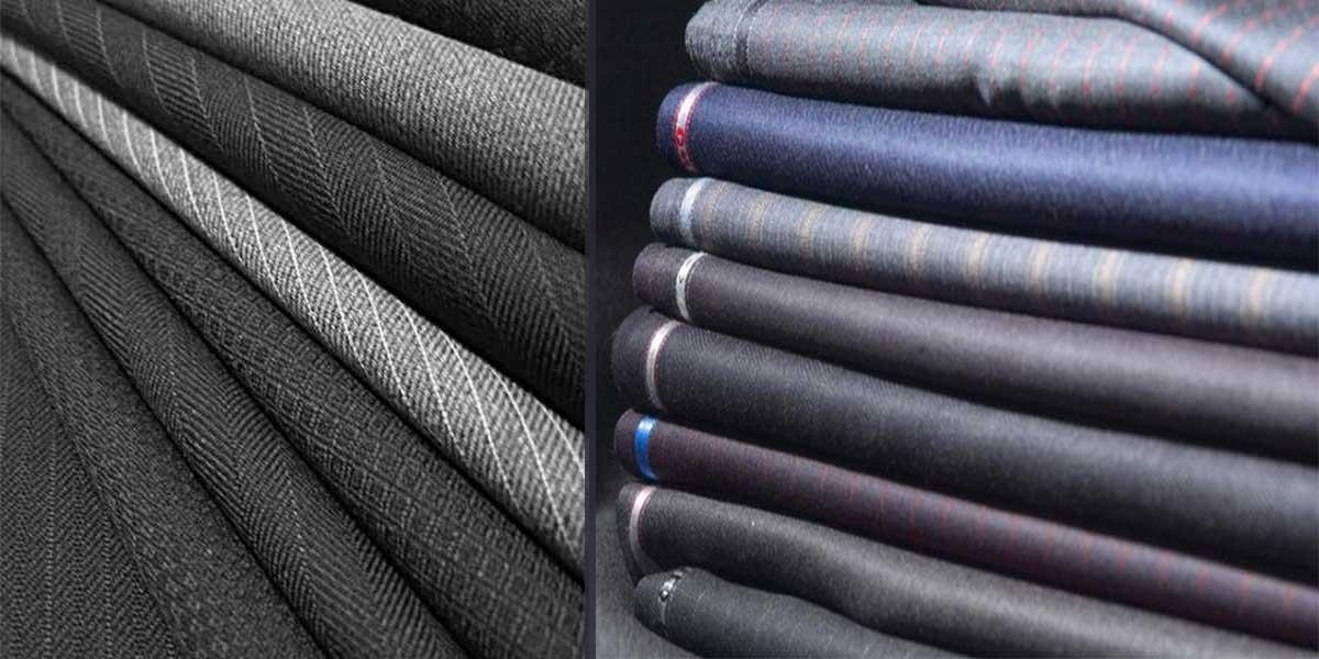 Vải may đồ vest rất đa dạng
