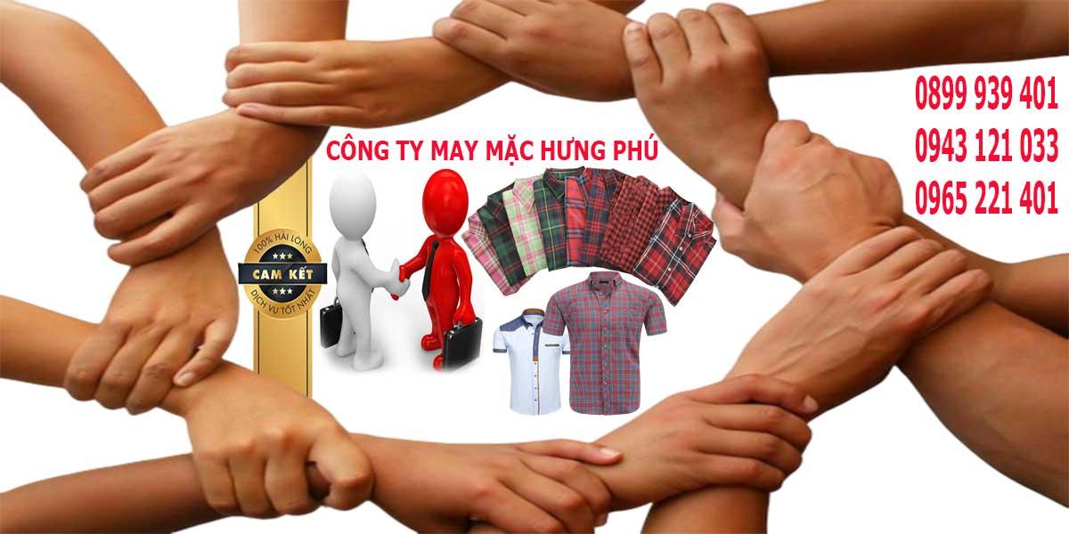 Hãy cùng hợp tác may áo sơ mi đồng phục công sở tại cơ sở Hưng Phú