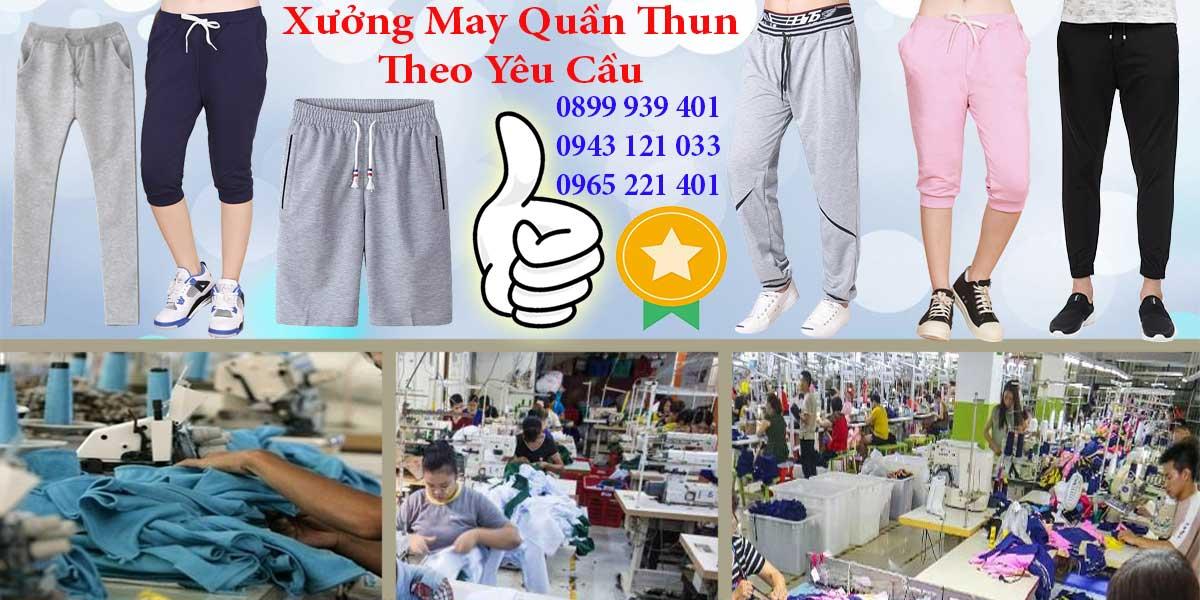 Vì sao nên chọn xưởng may quần thun, may quần short Hưng Phú khi có nhu cầu?