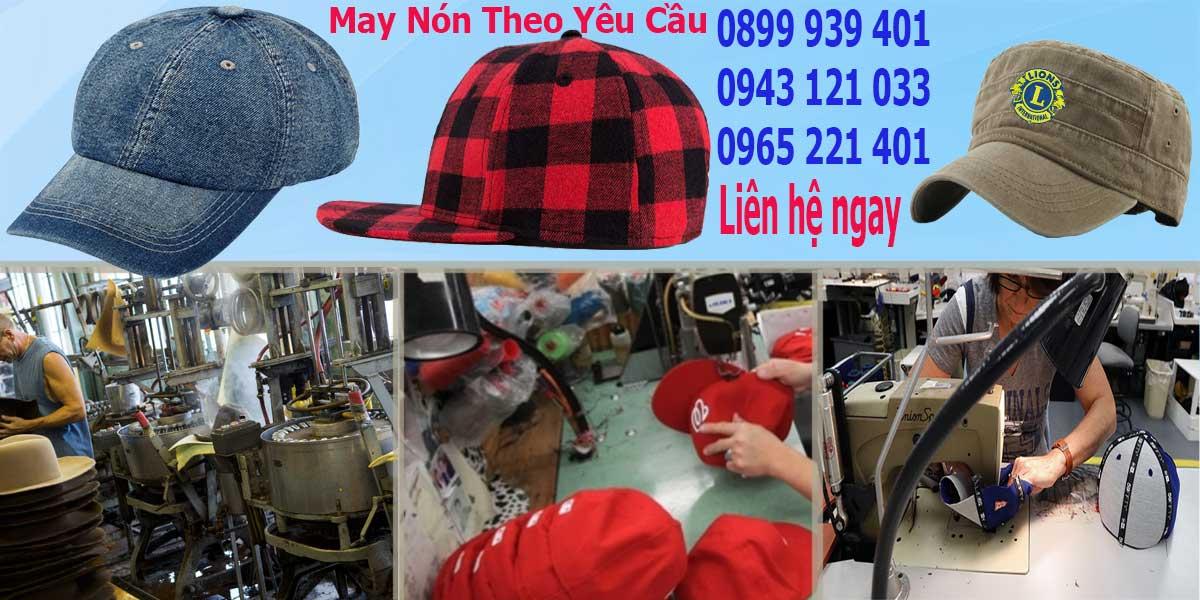 Các bước tiến hành sản xuất nón đồng phục tại Hưng Phú