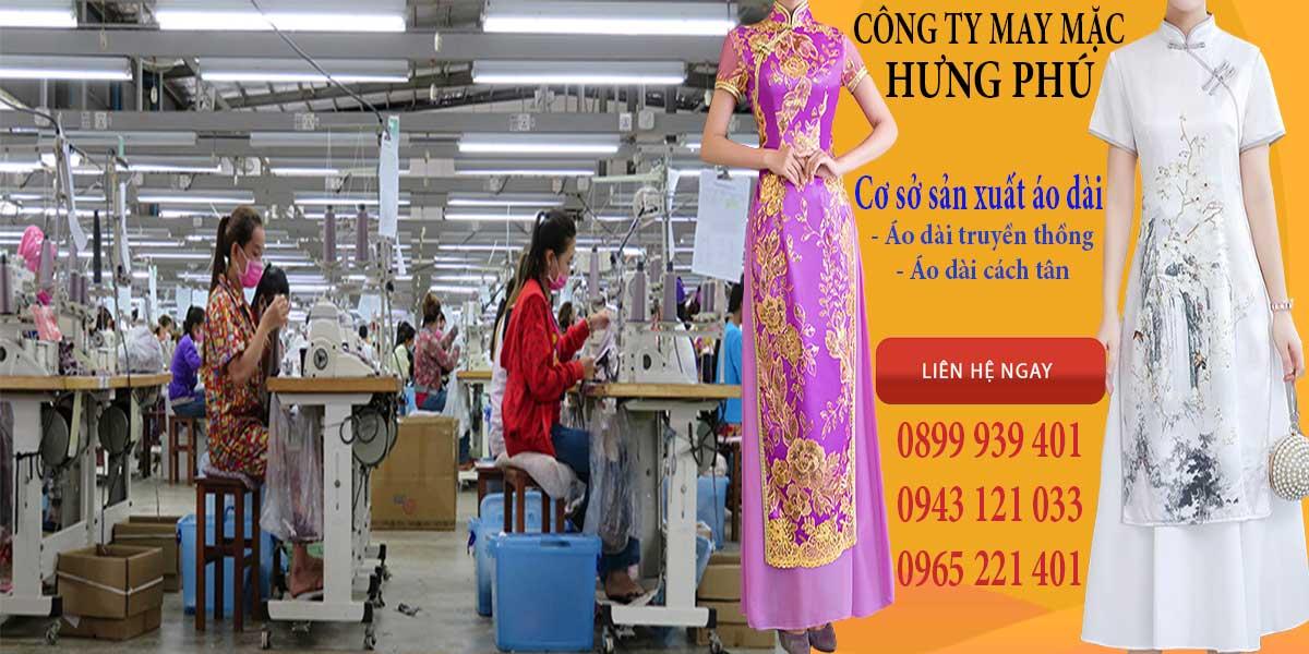 Xưởng may áo dài chuyên nghiệp của Hưng Phú