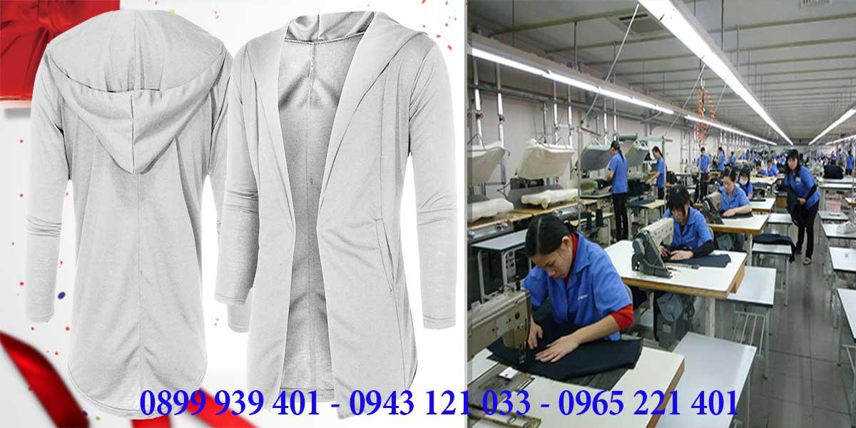 Xưởng may áo khoác chất lượng uy tín