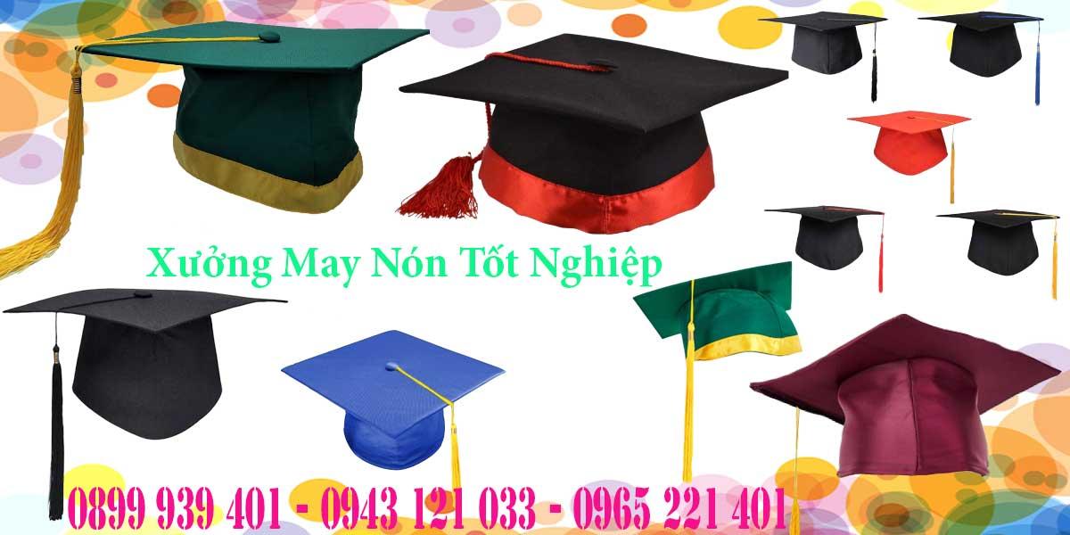 May mũ cử nhân, mũ tốt nghiệp số lượng lớn
